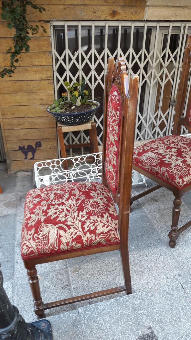 Altı adet harika taht sandalye resmi