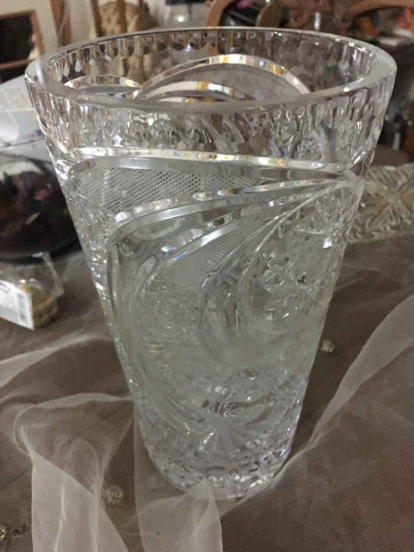 Kristal vazo resmi
