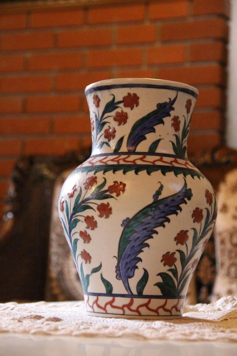 Çini vazo resmi
