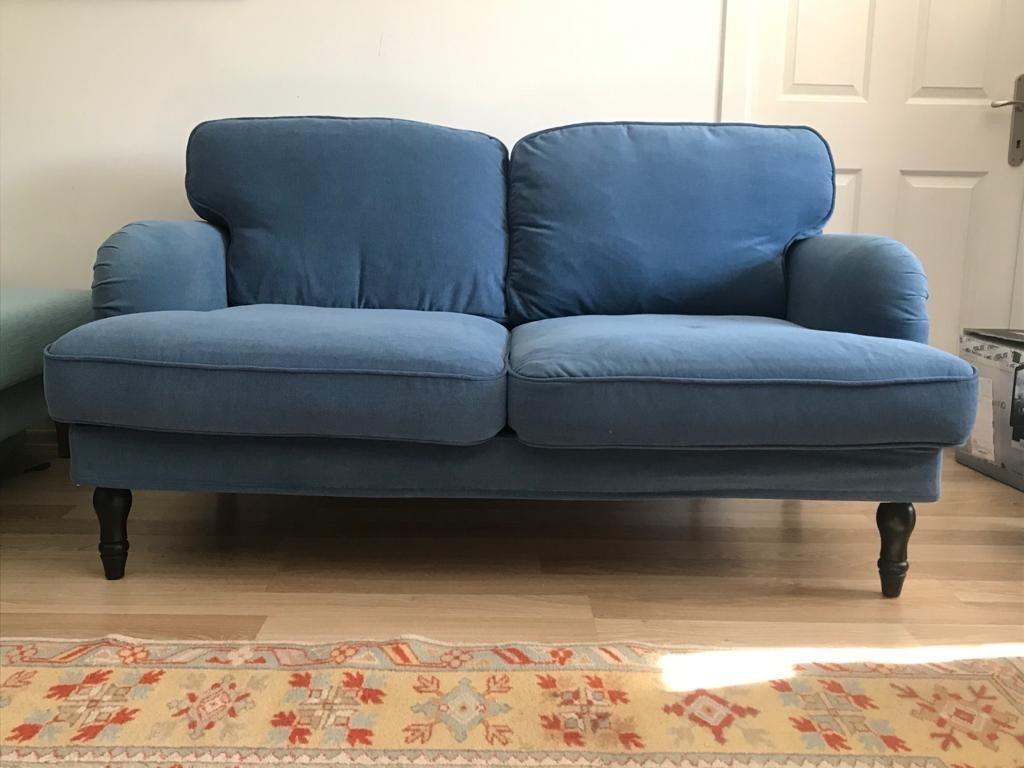 Mavi Ikea Stocksund 2'li Kanepe Modelleri ve Fiyatı ...