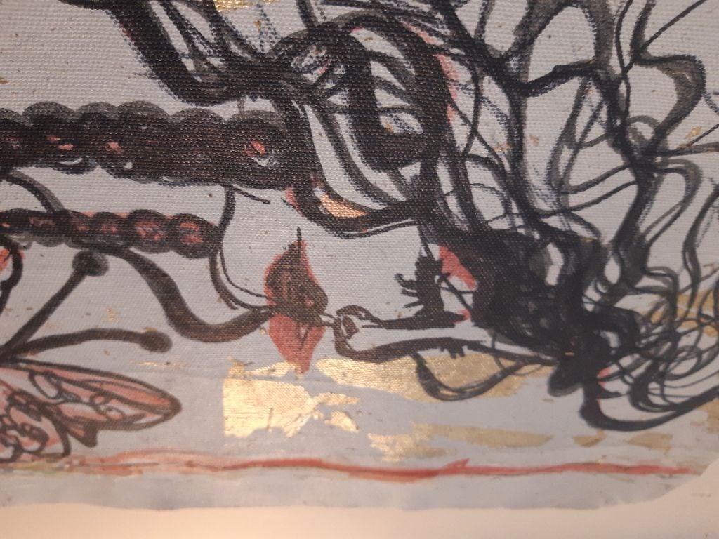 orijinal çağdaş sanat eseri resmi