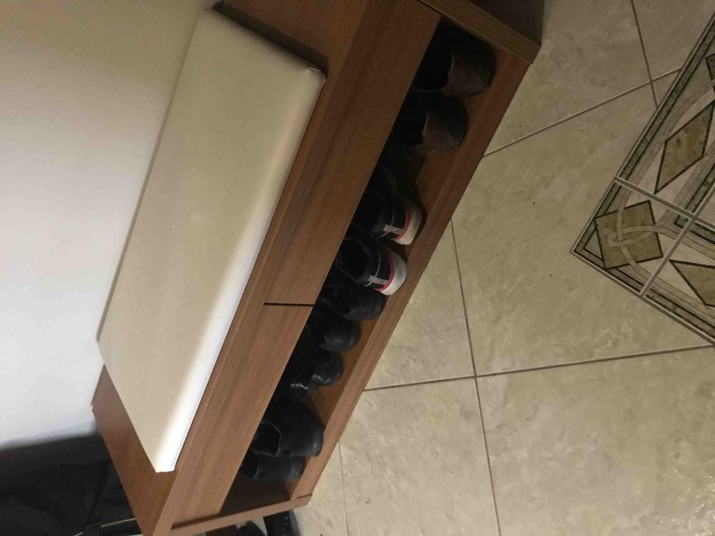 Tepe Home ayakkabı bankı resmi