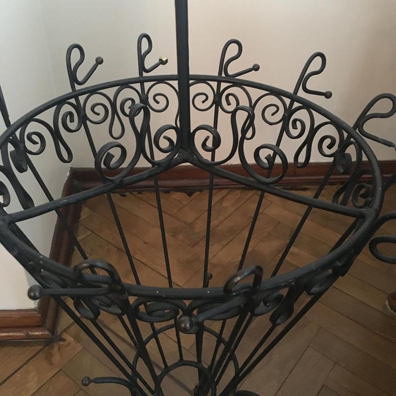 Antika metal şemsiyelik  resmi