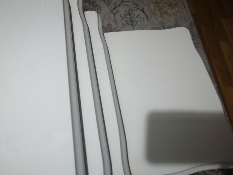 Beyaz 4 lü zigon sehpa  resmi