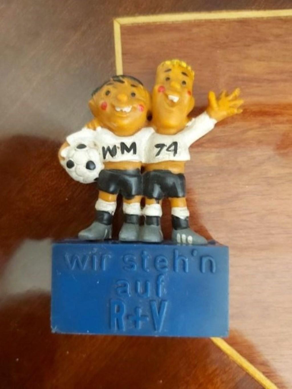74 Dünya Kupası 74 WM Maskot/Biblosu Nadir Bulunur resmi