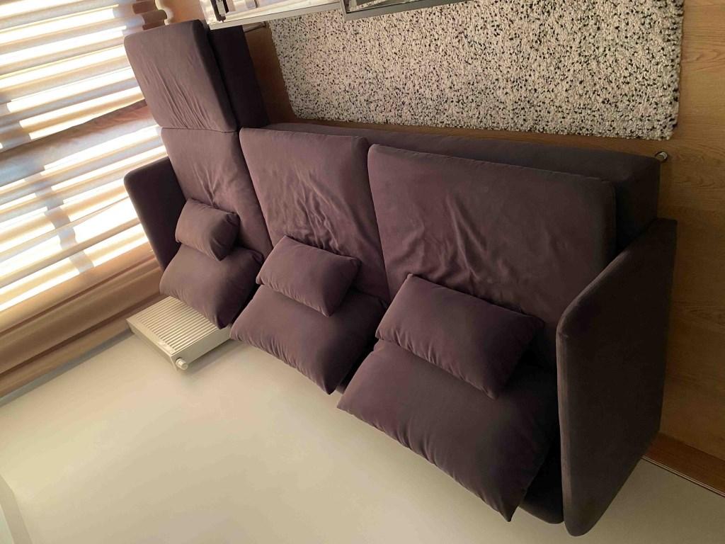 Gri Ikea söderhamn üçlü kanepe ve uzanma koltuğu Modelleri ...