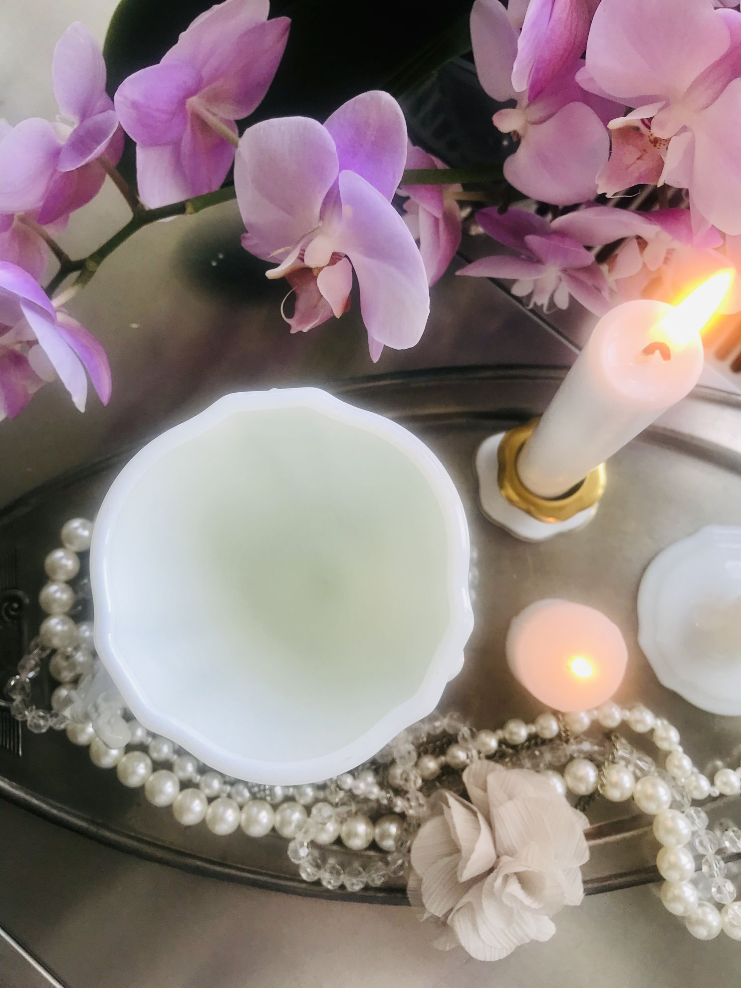 Opalin kadeh sunumluk resmi