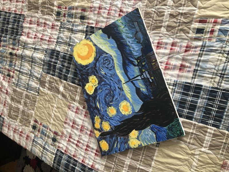 Starry night van gogh resmi