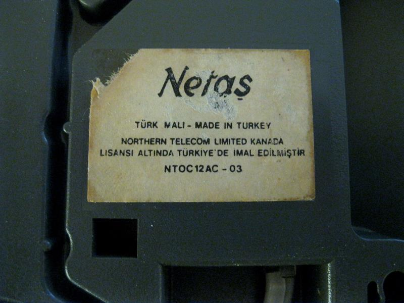 80ler retro telefon dekoratif/koleksiyon amaçlı resmi
