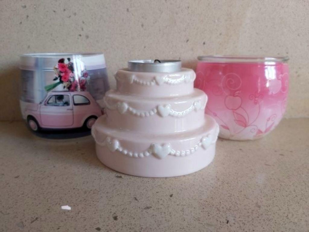 Pembeli 3 adet Şirin tealight/mumluk Seti resmi