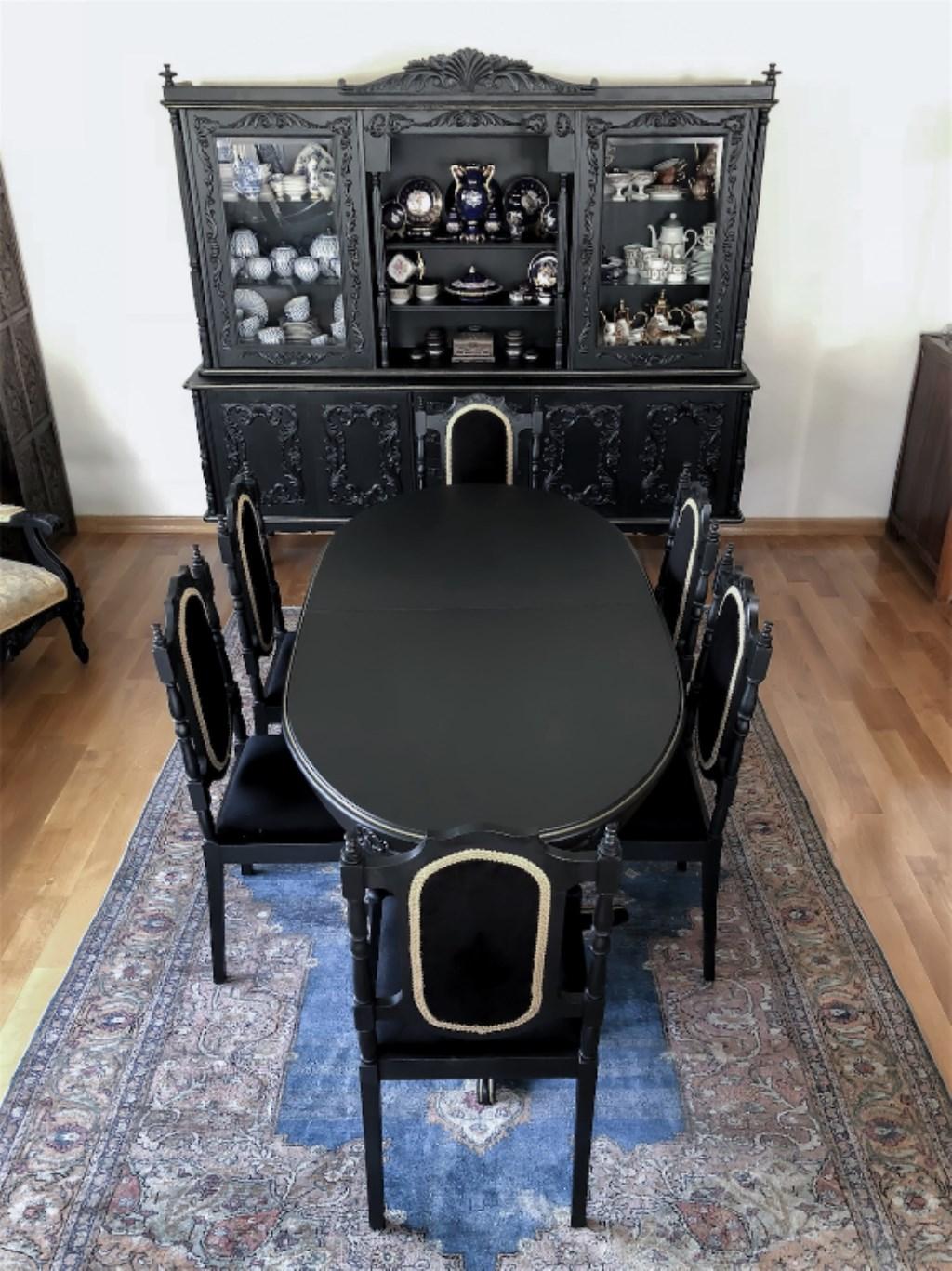 Antika Masa Sandalye Takimi