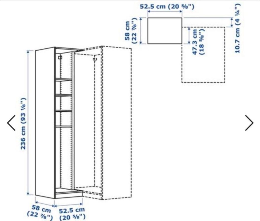 Beyaz IKEA Pax Köşe Ünite Modelleri ve Fiyatları – Dekopasaj
