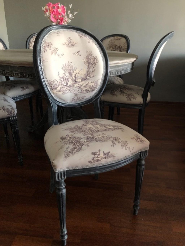Yenilenmiş 6 adet sandalye  resmi