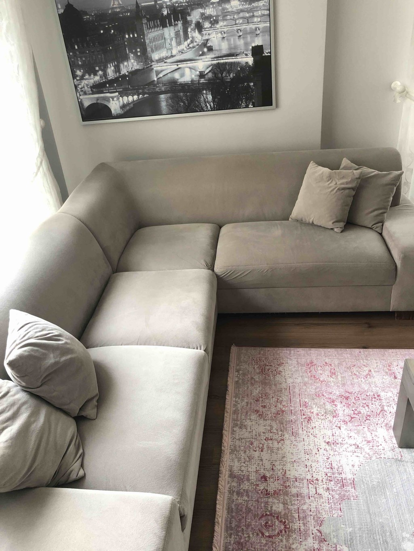 Enza Home tay tüyü L koltuk  resmi