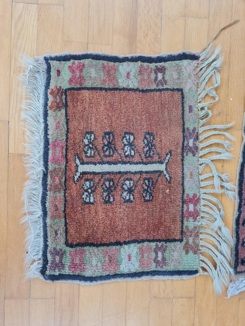 Tebriz halı + 2 küçük paspas hediye resmi