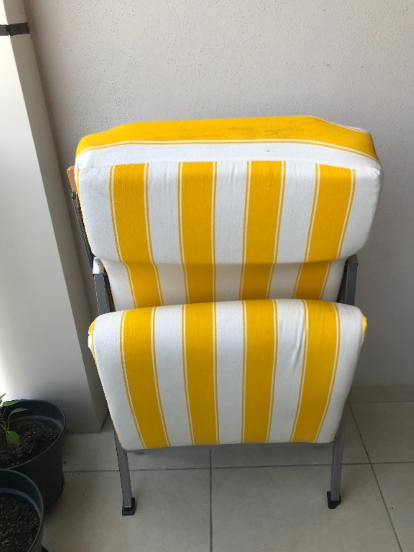 Katlanan sandalye resmi