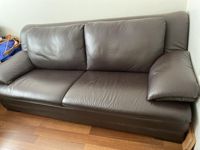 Deri kanepe  resmi