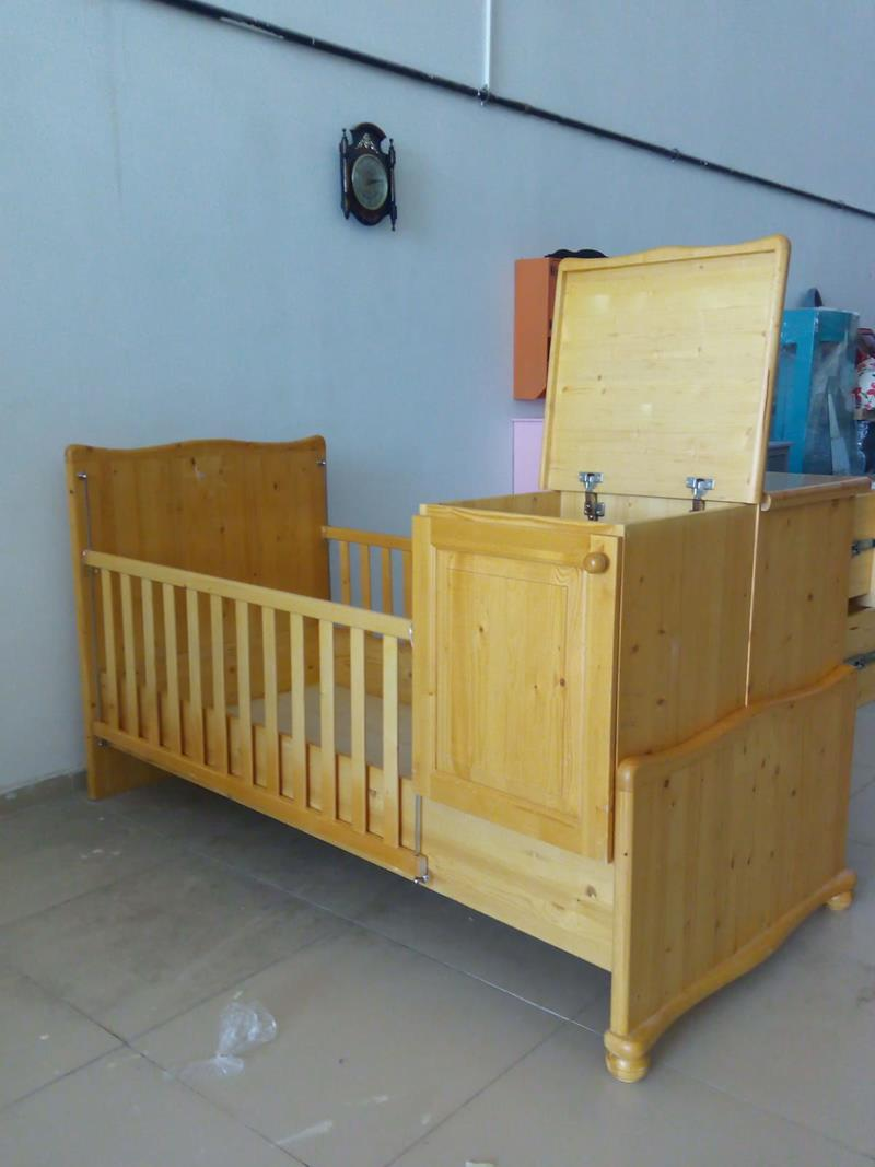 Fonksiyonel çocuk yatağı 0407-01 resmi